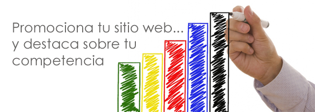 Consejos y sitios para promocionar tu sitio web.
