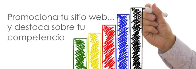 Consejos y sitios para promocionar tu sitio web.