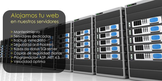 Empresas de alojamiento web.