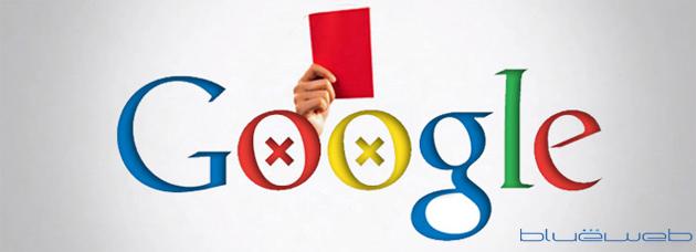 Web penalizada por Google.