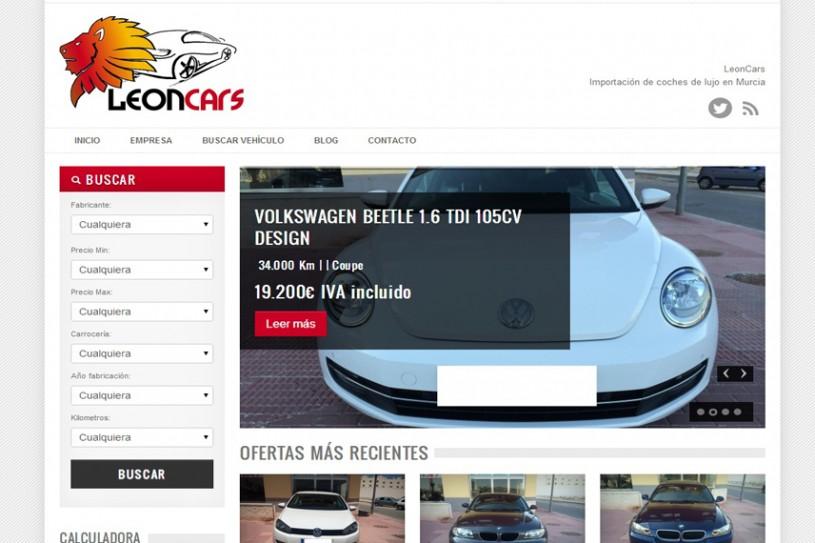 Trabajo realizado para Leoncars.