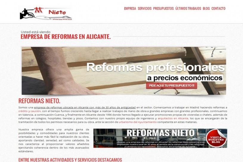 Trabajo realizado para Reformas Nieto.