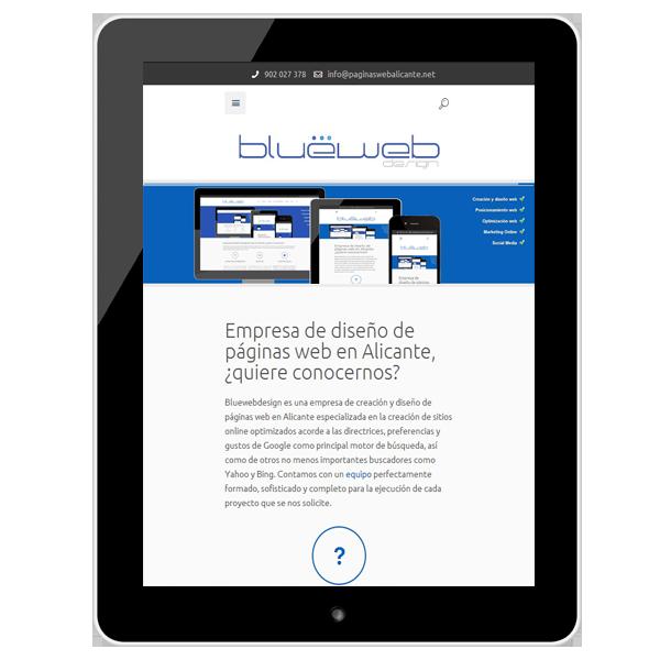 Diseño responsivo tablet