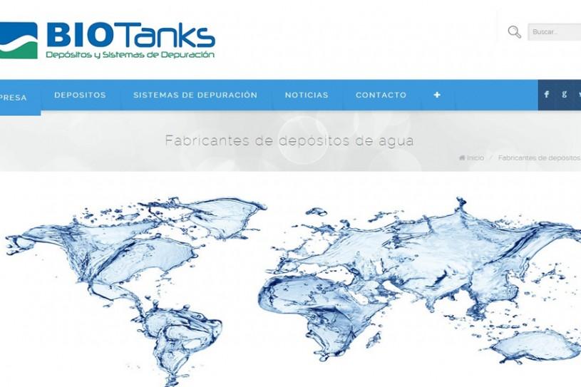 Trabajo realizado para empresa Biotanks.