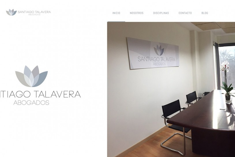 Trabajo realizado para Santiago Talavera: Abogado especialista en derecho penal en Alicante.