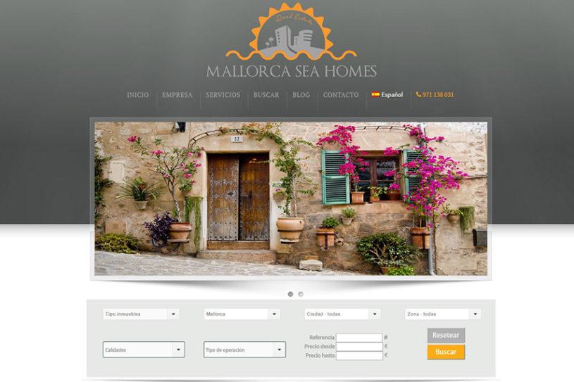Trabajo realizado para la agencia inmobiliaria Mallorca Sea Homes.