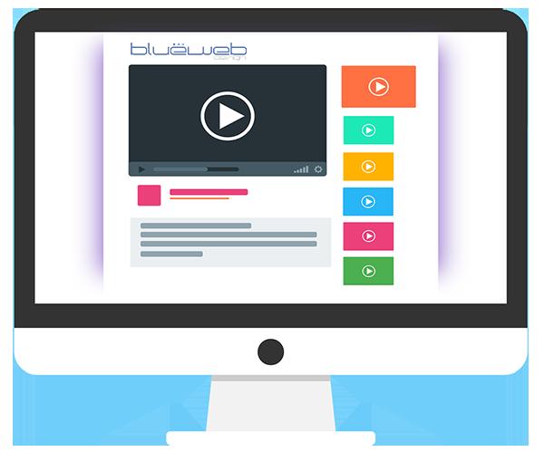 Servicio de vídeo marketing de Bluewebdesign.